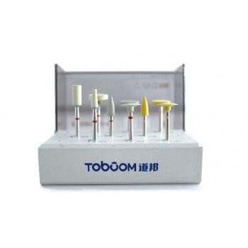 Toboom® HP0109Dジルコニア材修整研磨用ポイントセット